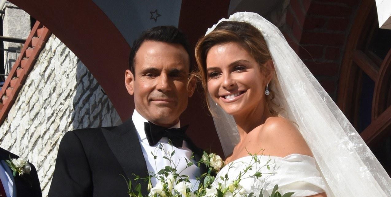 MARIA MENOUNO'S WEDDING